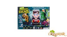 Szabadulószoba junior - végre egy szabadulós játék gyerekeknek már 6 éves kortól.  A cél: kiszabadulni! A megvalósítás már nem ilyen egyszerű! Escape Room, Board Games, Bring It On, Marvel, Role Playing Board Games, Tabletop Games, Folder Games