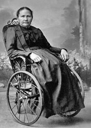 When Margarete Steiff (1847-1909) was 18 months she had a high fever which paralysed her legs and it hurt to use her right arm.  In spite of the pain in her right hand, Margarete also went to sewing school and at the age of 17 she completed her training as a seamstress. Her father built her a small tailor shop. She sold clothes and articles she made. She found a pattern for a stuffed elephant, and that started the Steiff Toy Co. still high quality goods.