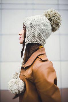 Модная шапка ушанка 2018