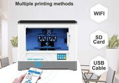 FlashForge Dreamer 3D Printer Kit Cheap 3d Printer, 3d Printer Kit, Best 3d Printer, Good And Cheap, Sd Card, Printers, The Dreamers, Cool Things To Buy, Cool Stuff To Buy