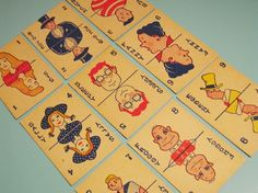 Vintage Old Maid Playing Cards from bostonbaglady on Etsy