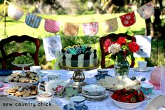 Sew Country Chick: Sewing, Crafts, and Vintage Style: 3 Tier Vintage Plate Server Tutorial