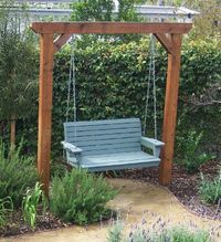 Swing for backyard