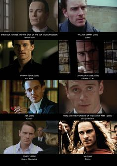 filmography 2004-2006:  Fassbender is an economical performer; there's no actorly fuss in his work, no mannerisms as yet. He knows that he just needs to show up to hold the screen with his eyes and the movements of his graceful, neatly made body. ~ Dan Callahan (Indiewire)