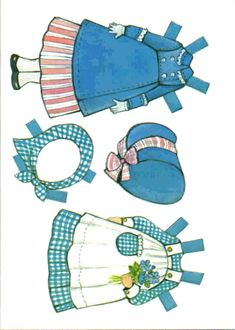 The Ginghams Paper Doll and Playset: Carrie's Bedroom, 1976 Whitman of Paper Doll Craft, Paper Toys, Diy Paper, Paper Crafts, Vintage Paper Dolls, Vintage Toys, Antique Toys, Paper Cutting, Paper Dolls Printable