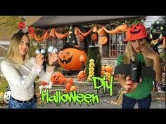 Halloween Gif, Anna, Wreaths, Youtube, Home Decor, Decoration Home, Door Wreaths, Room Decor, Deco Mesh Wreaths