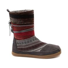 Shop for Womens TOMS Nepal Boot in Black Gray at Shi by Journeys.