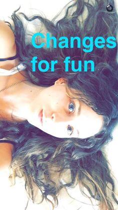 Troian Bellisario // Snapchat