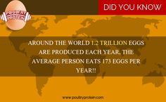 DID YOU KNOW ?  Visit us @ www.poultryprotein.com