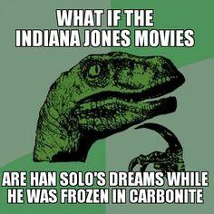 Indian Jones Philosoraptor