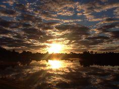 Hoy de verdad que Dios se lució! #sunrise #peaceinmysoul #thanksgod