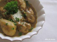 Bloc de recetas: Curry Tailandés de pollo