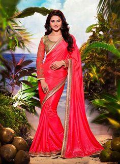 Chic Silk Designer Saree