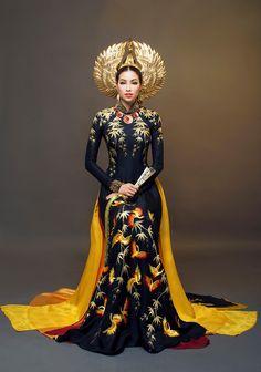 ミスユニバースでベトナムの代表者の伝統的な衣装   文化/旅行   ベトナム生活情報コミュニティサイトPOSTE(ポステ)