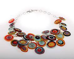 Anat Sapir- Isreal  , Necklace, 2008 Buttons