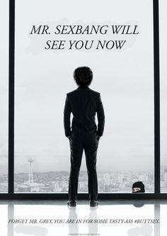 Danny Sexbang meets 50 Shades of Grey.