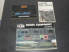 Old railway #trains catalogues #hornby #minitrix hammant morgan faller models 195,  View more on the LINK: 	http://www.zeppy.io/product/gb/2/172396321095/