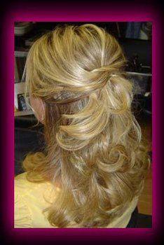 Long hair.. Loose curls