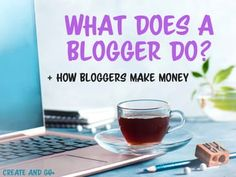 What Does a Blogger Do Make Blog, How To Start A Blog, Make Money Blogging, How To Make Money, Free Blog Sites, What Is A Blog, Becoming A Blogger, Email Marketing Services, Pinterest For Business