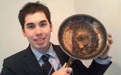 Jesus in a frying pan