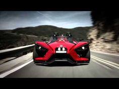 The All-New 2015 Polaris Slingshot — Product Video.  Looks kinda like the batmobile.  WANT IT!