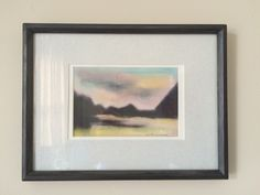 "Semi-Abstract Landscape Pastel on Paper - Framed -signed by artist ""Norma McDonald"" approx x including frame Art Painting, Abstract Landscape, Painting, Painting Prints, Art, Abstract, Prints"
