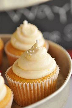 Orange Creamsicle Cupcake Recipe    Sail Away Graduation Party by yourhomebasedmom, via Flickr