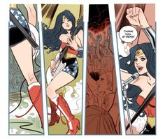 The Runaways meet WonderWoman…Our issue of SENSATION COMICS ft. WONDER WOMAN is out! https://www.comixology.com/Sensation-Comics-Featuring-Wonder-Woman-2014-7/digital-comic/142796 … Words by Sean E.Williams, art by me, letters by Deron Bennett!