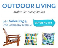 Enter today for a chance to win $4,500 in prizing from The Company Store and Southern Living!