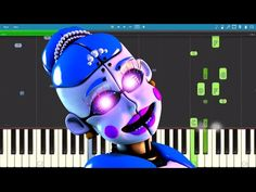 Ballora Song - Dance To Forget - FNAF SL - TryHardNinja - Piano Cover / Tutorial - YouTube