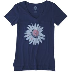 Women's Daisy Pocket Vibe Tee   Life is Good® Official Site