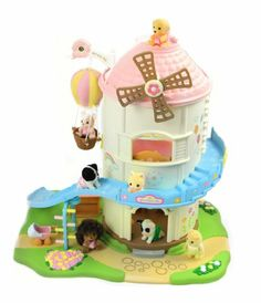 Amazon.com : Calico Critters: Baby Playhouse Windmill : Toy Figure Playsets : Toys & Games