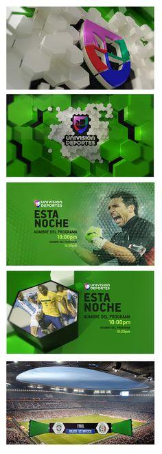 UNIVISION Deportes Design - Chars