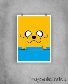 Poster Jake - Hora de Aventura