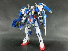 Bandai 1/100 Gundam AVALANCHE EXIA built model kit 00 Gunpla Action Figure #Bandai