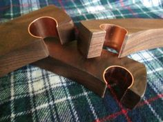 Walnut wood bottle opener handcrafted by ShortBench on Etsy