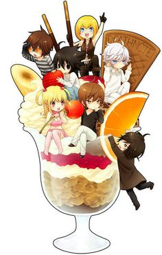 awwwwwwwwwww L Matt, and Mello and Near are so cute!!!!!!!!!!