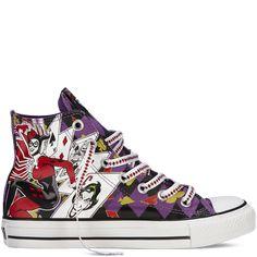 Chuck Taylor DC Comics purple
