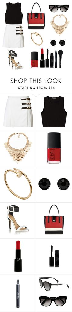 """""""Incomplete."""" by barbaracardoso10 ❤ liked on Polyvore featuring Emilio Pucci, Pieces, Kardashian Kollection, NARS Cosmetics, Givenchy, Ravel, Wallis, Giorgio Armani, Chanel and Christian Dior"""