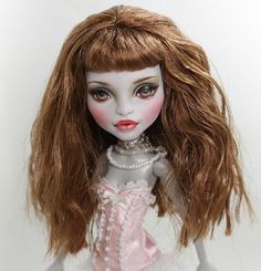 "** Luisa ** 11"" 12"" 1/6 OOAK custom Monster high CAM Werewolf Repaint by Yu #Dolls"