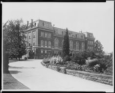 The Department of Agriculture with the Experimental Garden in the front.