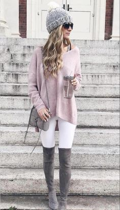 Winter Fashion: 45 Cute Winter Outfits to Copy Now ⋆ BrassLook Winter Outfits Women, Winter Fashion Outfits, Autumn Winter Fashion, Winter Clothes Women, Fashion Clothes, Fashion Boots, Autumn Clothes, Fashion Dresses, Cute Fall Clothes