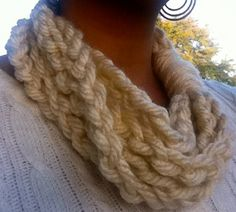part scarf, part necklace :)