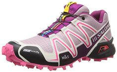Salomon Women's Speedcross 3 CS W Trail Running Shoe,Crocus Purple/Light Grey/Mystic Purple,5.5 M US SALE - http://trailrunningshoes.hzhtlawyer.com/salomon-womens-speedcross-3-cs-w-trail-running-shoecrocus-purplelight-greymystic-purple5-5-m-us-sale/