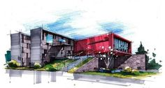 Markers | draw | architecture