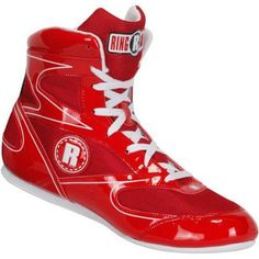 Ringside Diablo Boxing Shoes, Women's, Size: 6, Red