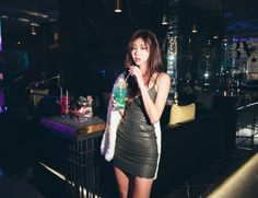 Korean Model 172 #koreanmodel #koreanbeauty #koreanfashion #model #beauty #fashion Jung Yoon, Korean Model, Model Pictures, Leather Skirt, Park, Sexy, Skirts, Beauty, Asian Models