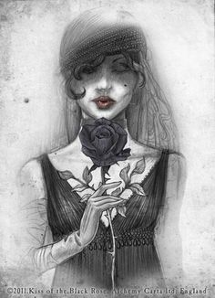 Kiss of the Black Rose ~ Alchemy Gothic