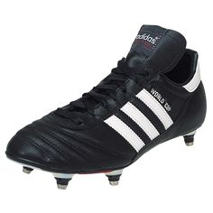 newest d47d6 52881 adidas World Cup Soft Ground Soccer Cleat - BlackWhite-11.5