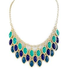 Calypso Necklace ($36) ❤ liked on Polyvore featuring jewelry, necklaces, accessories, collares, jewels, collar necklace, collar jewelry, jewel necklace and jewel collar necklace